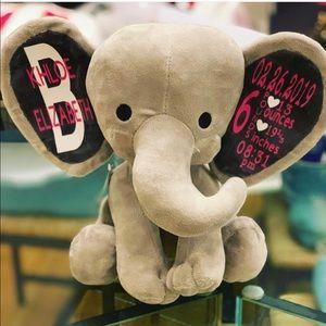 NWT BIRTH ANNOUNCEMENT ELEPHANT